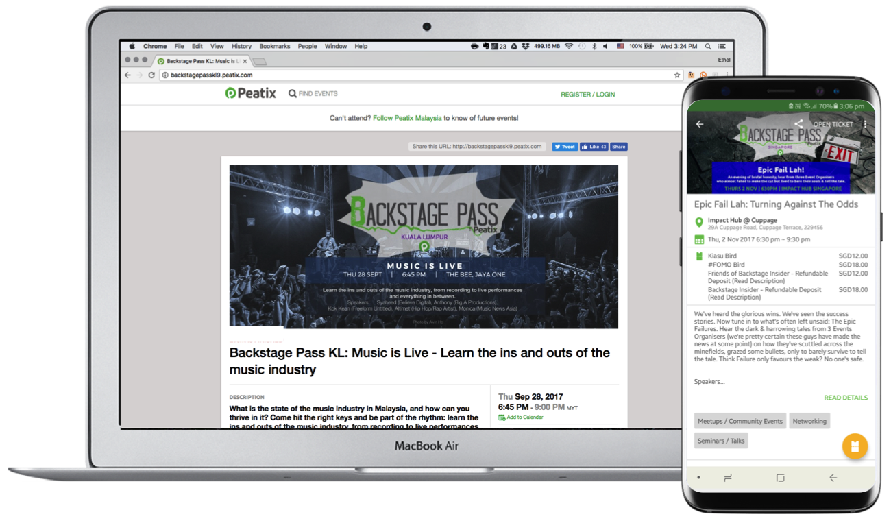 Boost your events' visibility and sell more tickets with us | Peatix