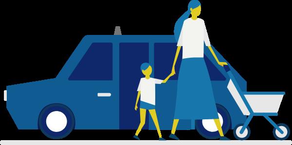 特徴3 ネット決済100%対応で車内での支払いが不要